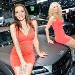Messe-Girls: Genfer Auto-Salon 2015