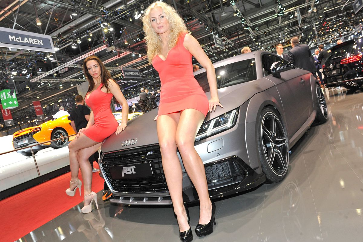 Messe Girls Genfer Auto Salon 2015 Shots Magazin