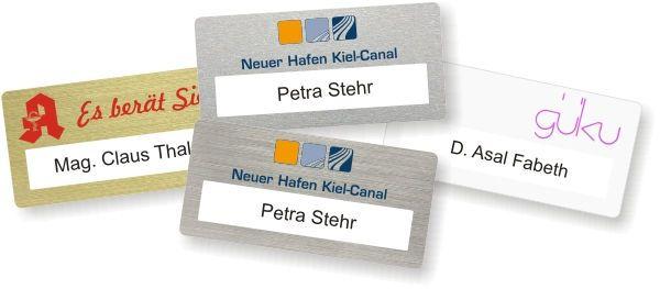 """Namensschilder von """"Schilder Systeme Siedenburg"""""""