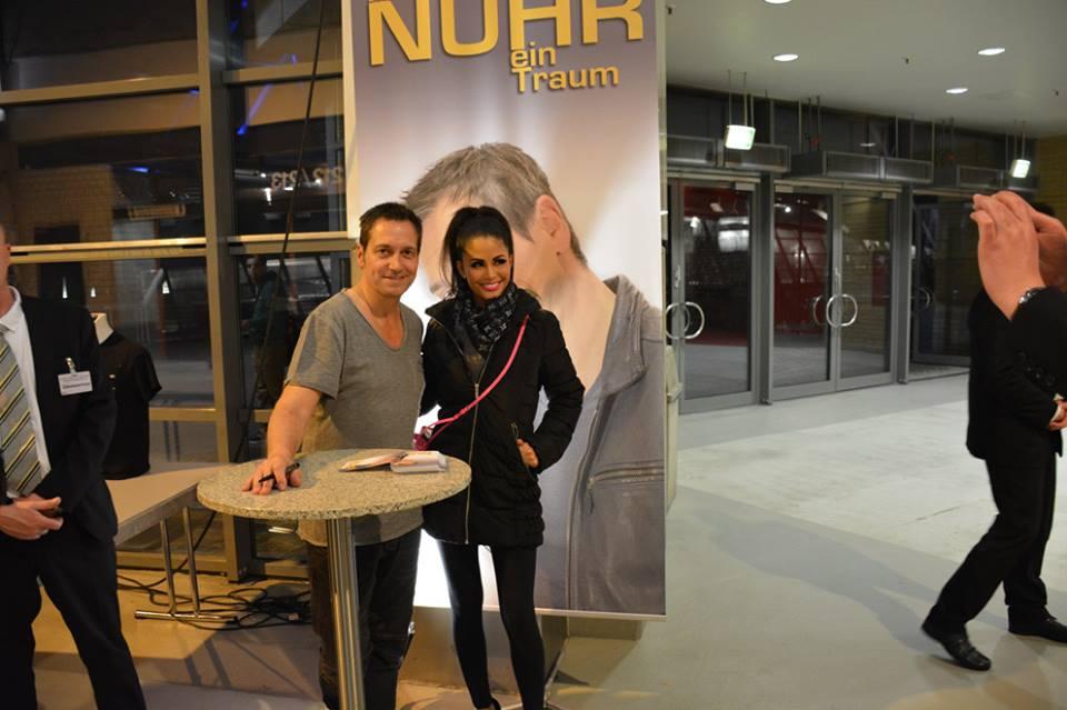 Dieter Nuhr und Mia Gray