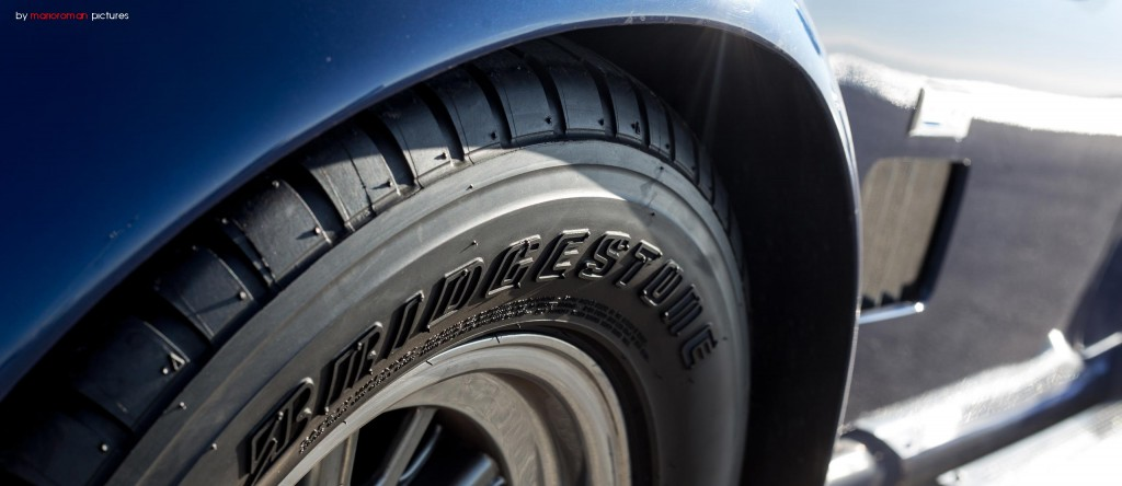 Die Bridgestone Pneus hatten mächtig zu kämpfen...
