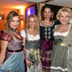 Regina Halmich, Nova Meierhenrich, Lola Paltinger, Saskia Vester