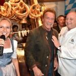 Maria Hauser-Lederer, Arnold Schwarzenegger, Alfons Schuhbeck