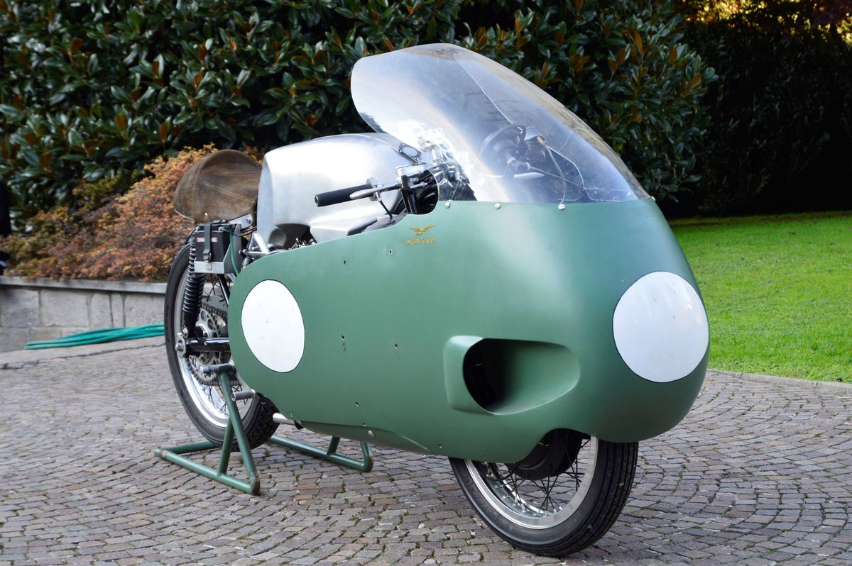 1956: Moto Guzzi V8 500GP Evocation