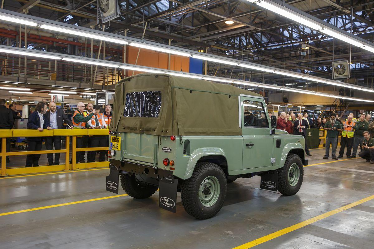 Land Rover Defender 90 Soft Top Heritage