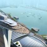 Das Marina Bay Sands Hotel in Singapur
