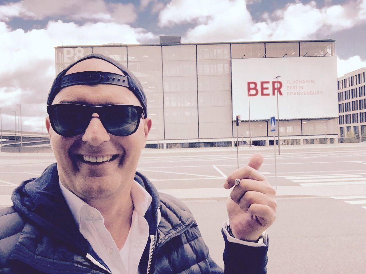 Kurzbesuch am Flughafen BER