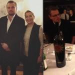 """Rom: Leonardo DiCaprio in der """"Trattoria Dal Toscano"""""""