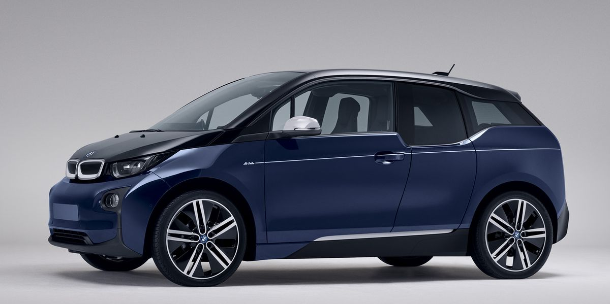 "BMW i3 im ""Mr Porter"" Look"