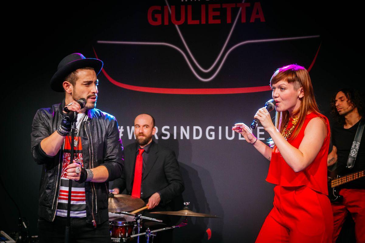 Frankfurt: Alfa Romeo Giulietta Event