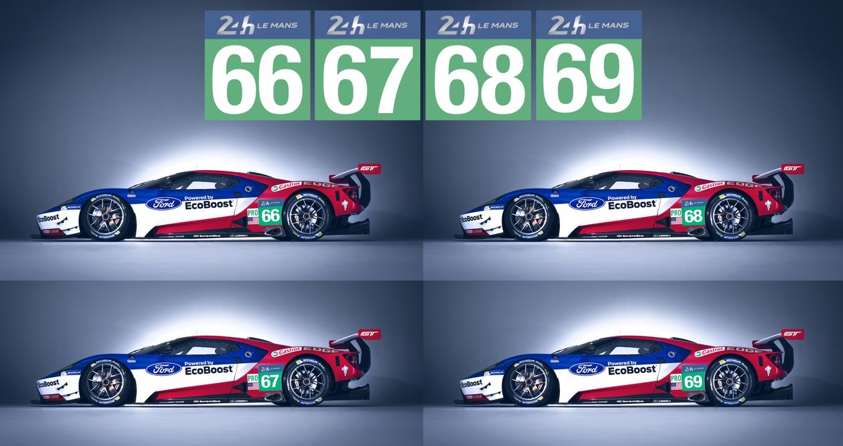 Historisch: Ford GT geht in Le Mans an den Start