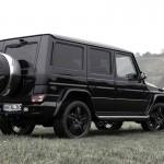 Schwarzes Gerät: Mercedes-Benz G500 von Lorinser