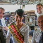 Miss Condor: An Bord gekürt