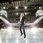 """Spaceship: Richard Branson lässt die """"VSS Unity"""" taufen"""