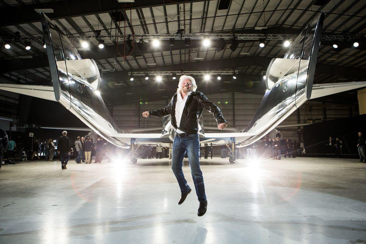 Richard Branson und VSS Unity