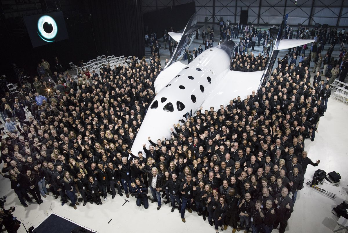 Virgin Galactic Team