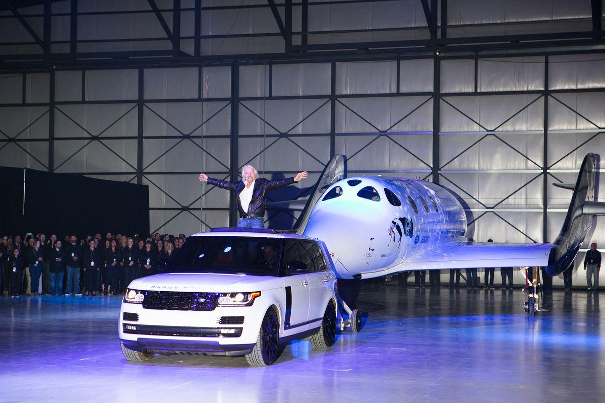 Range Rover Autobiography, Richard Branson, VSS Unity
