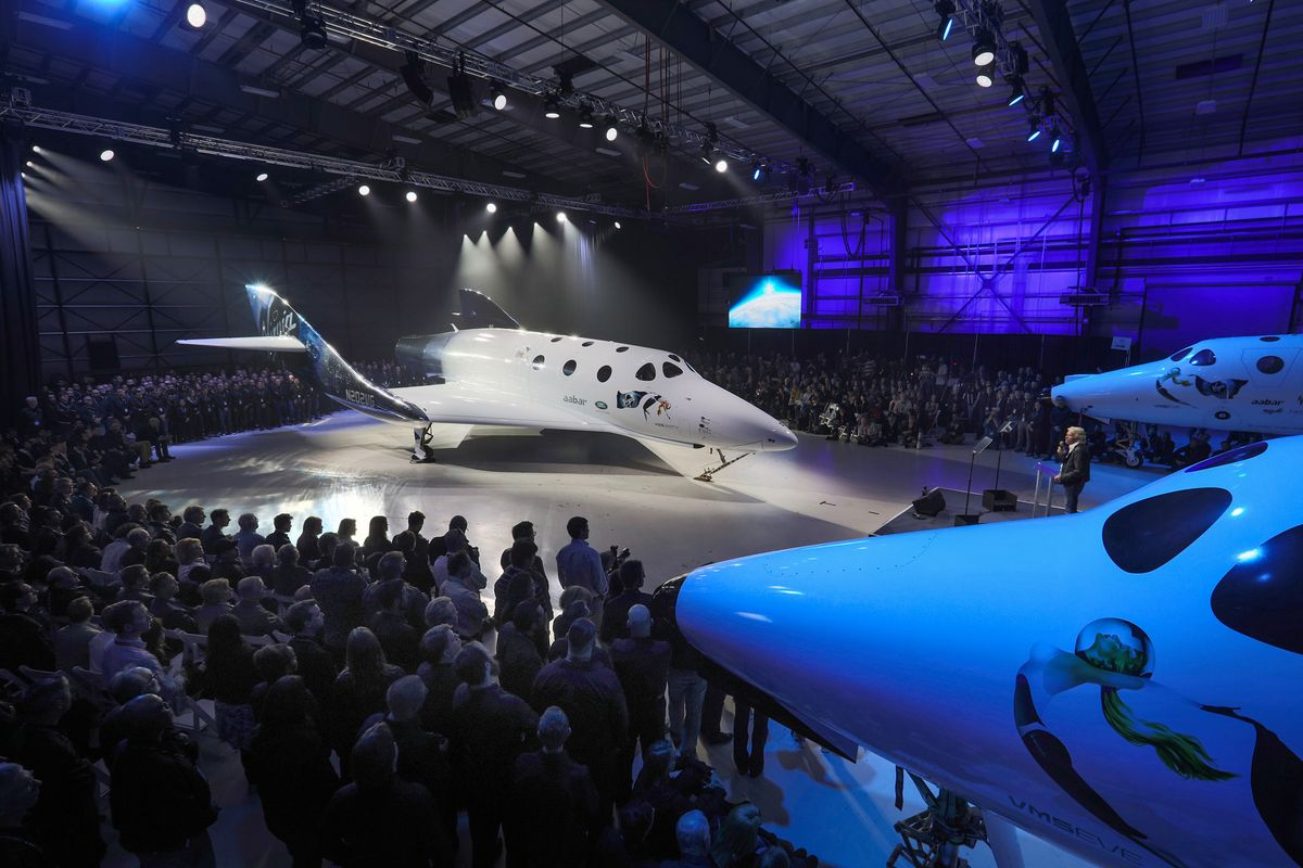 Virgin Galactic Zeremonie
