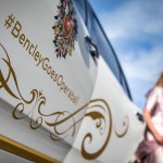 Bentley Mulsanne als vergoldeter Stargast beim Wiener Opernball 2016