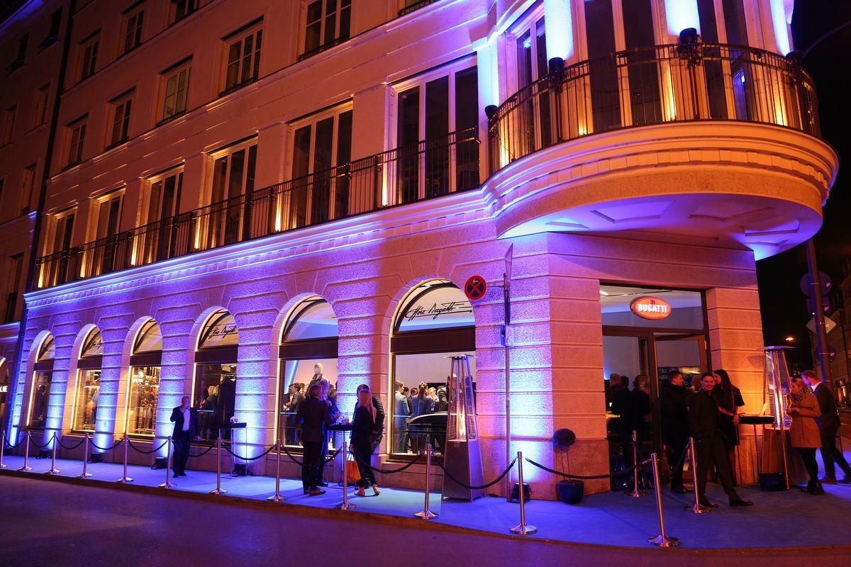 Bugatti Opening München
