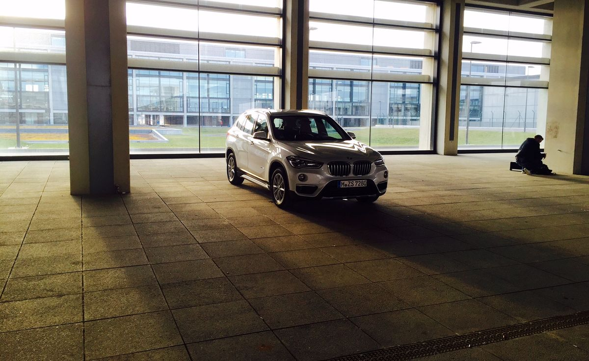 Shooting: BMW X1 xDrive 25d