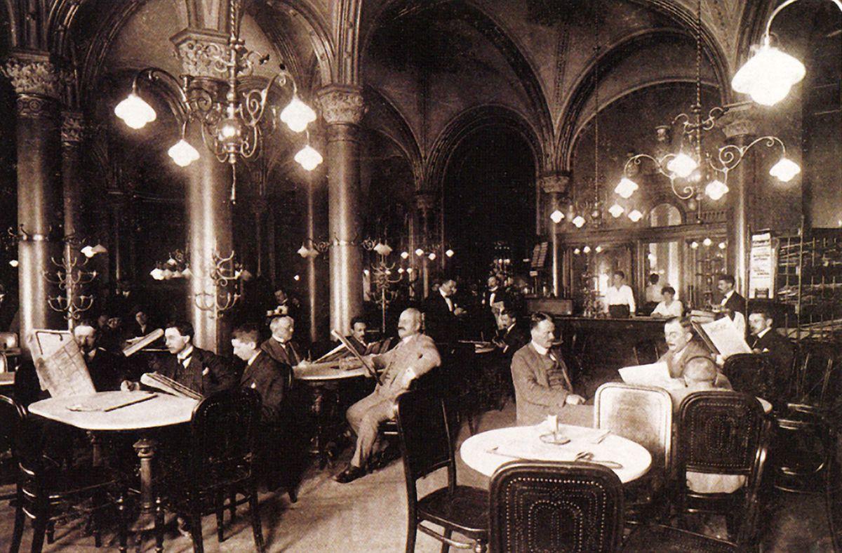 Vor 140 Jahren: Café Central Wien