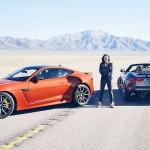 Michelle Rodriguez rast mit 322 km/h durch die Wüste