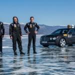 Bei minus 20 Grad: Bentley und Pirelli knacken Bestmarke