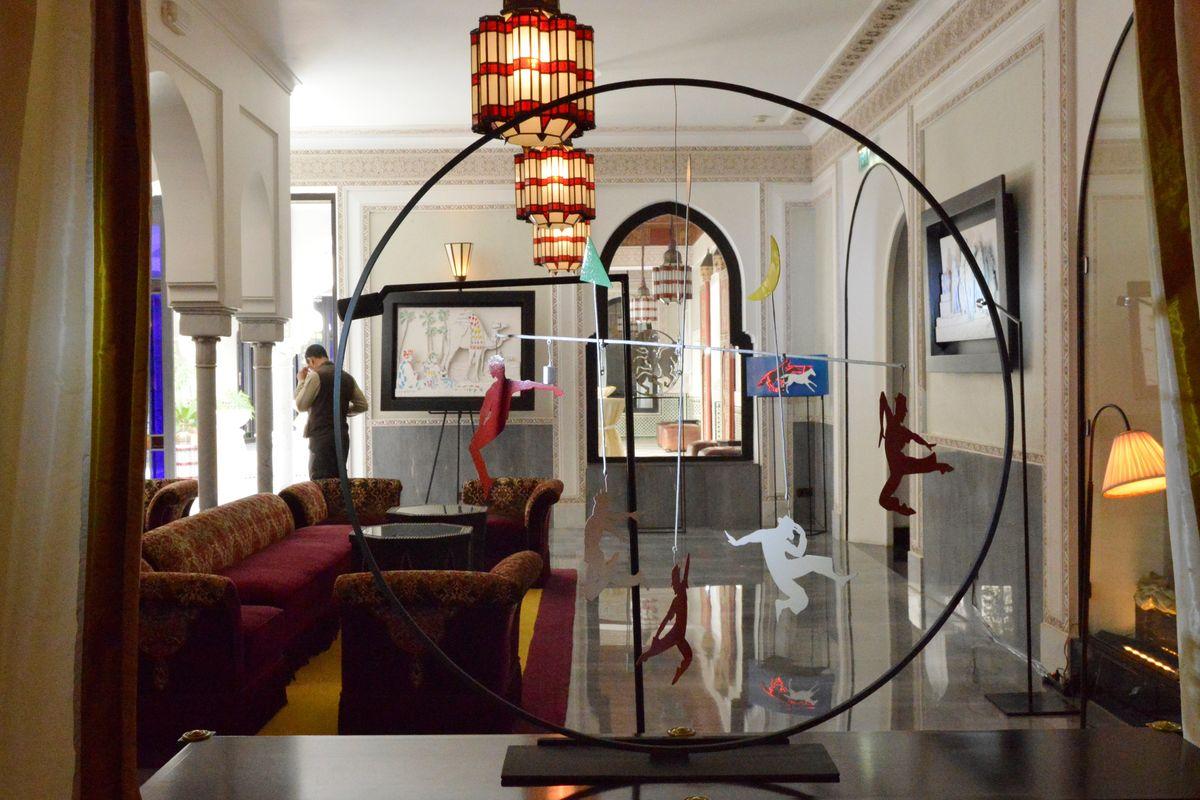 """Anne und Just Jaeckin, Hotel """"La Mamounia Marrakech"""""""