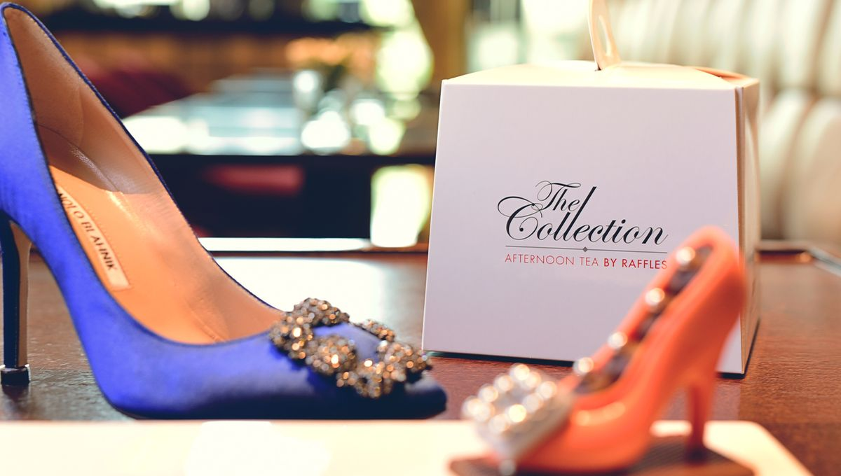 "Raffles Dubai: ""Fashion Afternoon Tea"" von Manolo Blahnik"