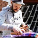 Star-Sprayer René Turrek nimmt sich Reifen vor