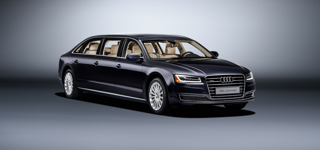 Audi A8 L extended (2017)