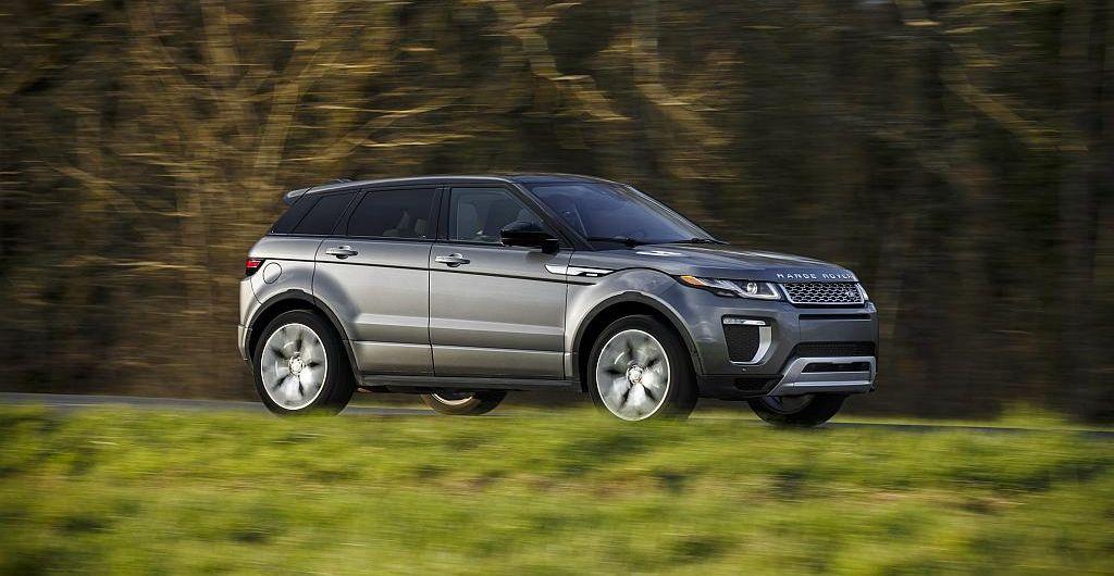 Der Range Rover Evoque 2017 wird mehr touchy