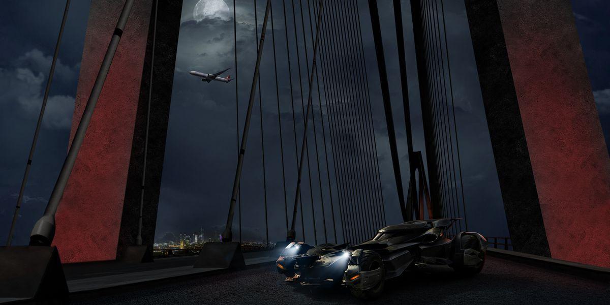 Batmobil überquert Grenze zwischen Europa und Asien