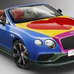 Bentley Continental GT V8 S Cabrio von Sir Peter Blake