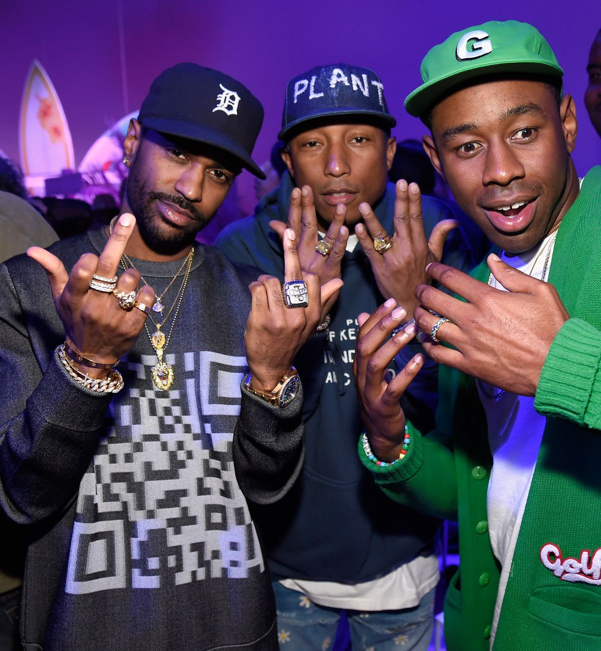 Big Sean, Pharrell Williams, Tyler the Creator
