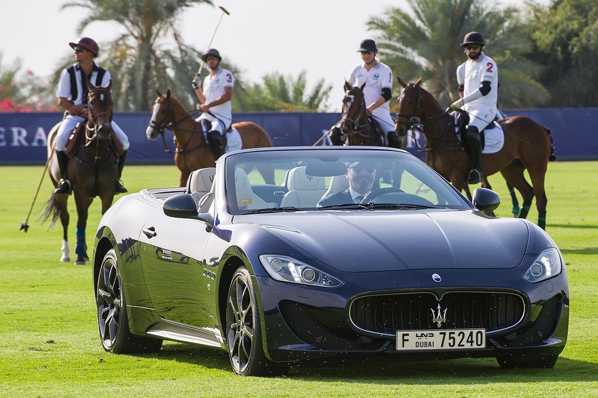 Maserati und La Martina: Spiel der Könige