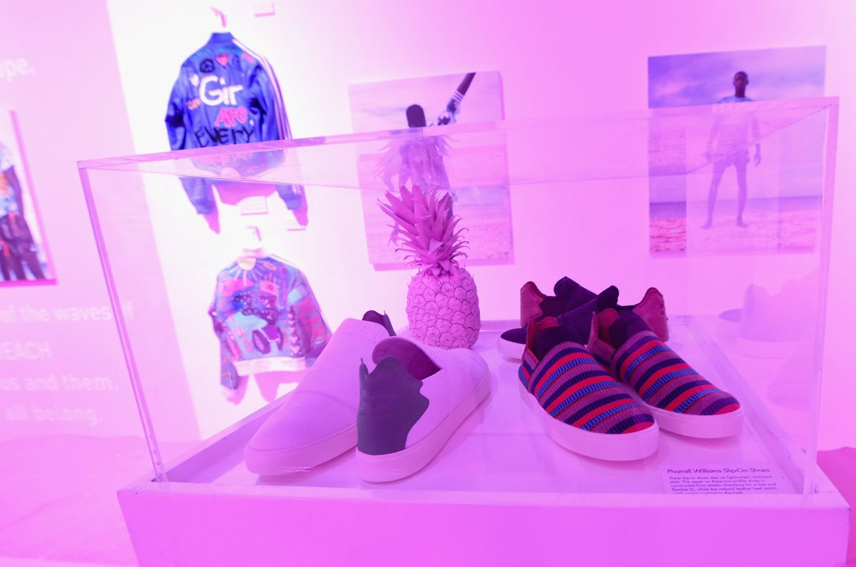 "Pharrell Williams, ""Pink Beach"" Kollektion, ""Adidas Originals"""