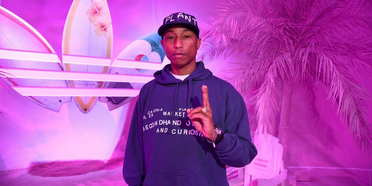 """Party: Pharrell Williams zeigt """"Pink Beach"""" Kollektion"""