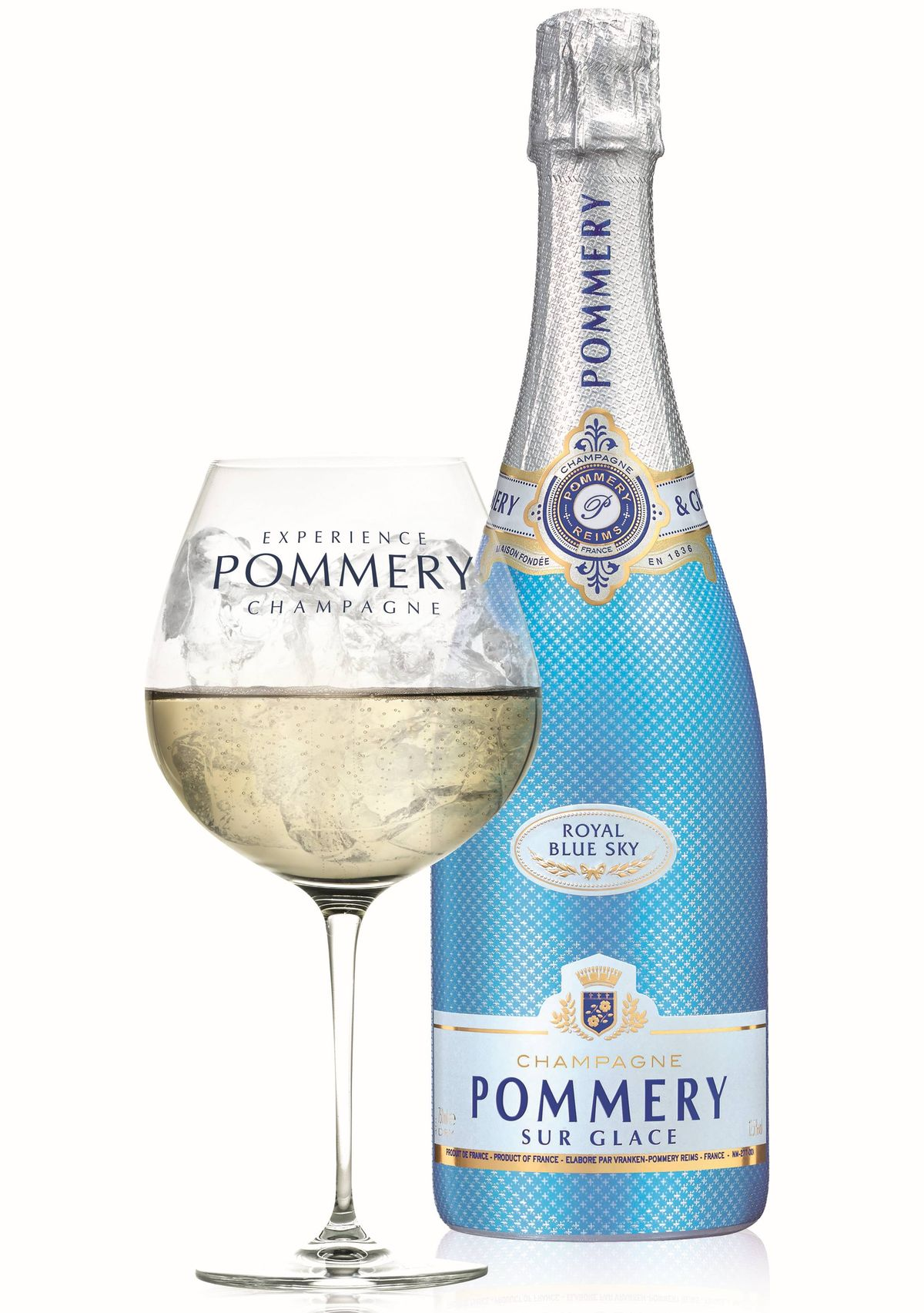 Pommery Royal Blue Sky