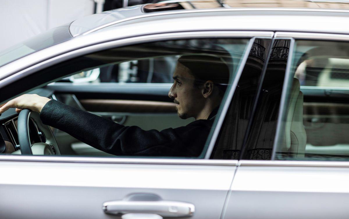 Zlatan Ibrahimović für Volvo