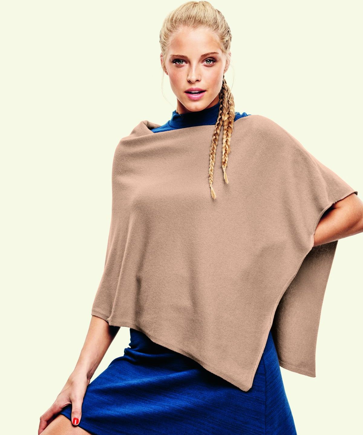 Poncho, Eric Bompard, Herbst / Winter 2016 Kollektion