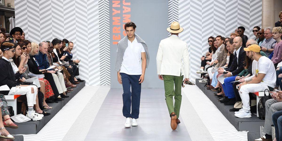 "Fashion Shows der ""London Collections Men"""