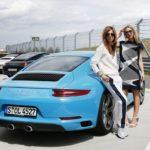 Claudia Eisinger, Julia Dietze, Porsche 911 Carrera S