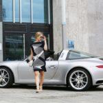 Julia Dietze, Porsche 911 Targa 4