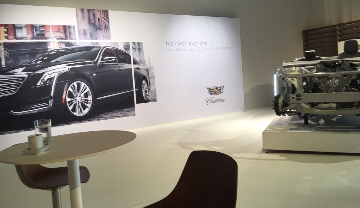 Cadillac Launch, Berlin