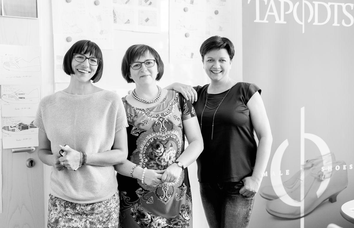 Britta Biele, Cornelia Jahnel, Jeannette Scharf