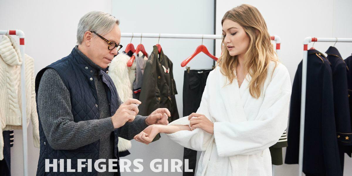 Gigi Hadid ist Hilfigers Girl