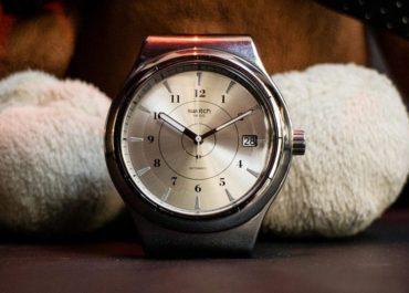 Stahlzeit: Swatch Sistem51 Irony