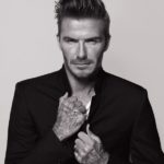 David Beckham zeigt seine Tattoos